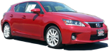 Photo of a 2011 Lexus CT.