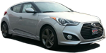 Photo of a 2013 Hyundai Veloster Turbo.
