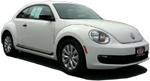 Photo of a 2013 Volkswagen Beetle.