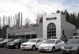 Photo of the Wysup Chrysler Jeep Dodge Ram building.